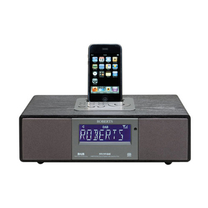 Roberts Radio SOUND 66 Desktop Clock Radio for iPod
