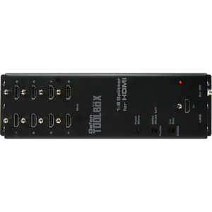 Gefen Toolbox 1:8 Splitter For Hdmi With Fst Black / Mfr. no.: GTB-HDFST-148-BLK