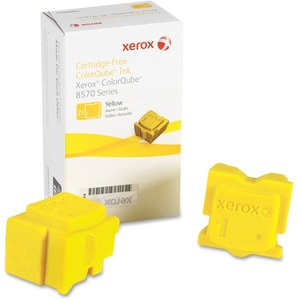 2pk Yellow Solid Ink Stick For Colorqube 8570 / Mfr. No.: 108r00928
