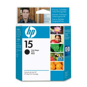 HP Inkjet Cartridge C6615DN #15 Black
