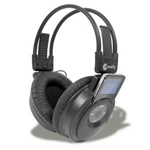 Macally mTUNE-N Cordless Stereo Headphone For iPod Nano