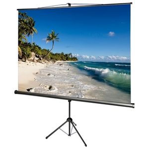 119in Accuscreens TriPod Screen Matte White 1:1 84x84in W/ Keys / Mfr. no.: 800072