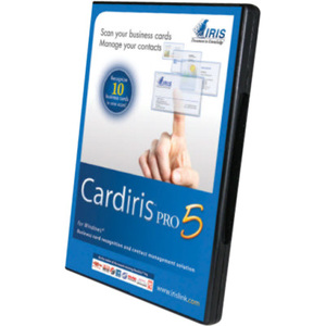 Cardiris Pro 5 Scan Business Cards Recognize And Manage Cont / Mfr. no.: 456819