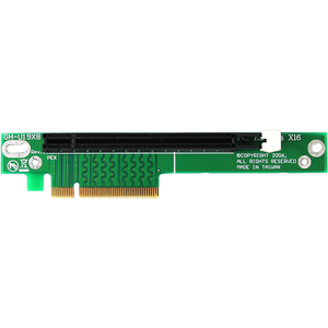 PCI Express X8 To X16 Motherboard Slot Extension Adap / Mfr. No.: Pex8to16r