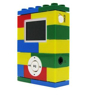 Lego Digital Blue LG14000 2GB Flash MP3 Player