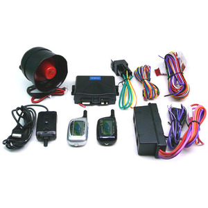 2-Way Fm Car Alarm Security LCD W/Remote Engine Start / Mfr. No.: Ca908a