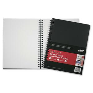 "Hilroy Studio Pro® Poly Cover Coil Sketch Book 9"" x 12"" 75 Sheets/pad"