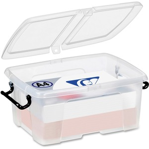 Strata Smart Box Supplies Box 12 L Clear