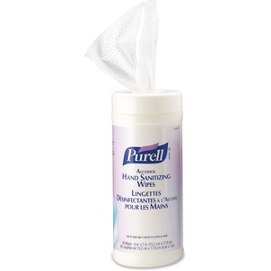Purell® Alcohol Formulation Sanitizing Wipes 80 Wipes