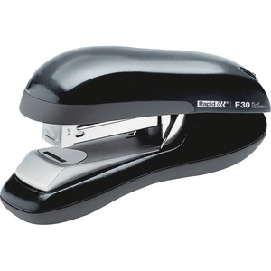 Rapid® F30 Flat Clinch Compact Stapler Half Strip 30 sheets Black