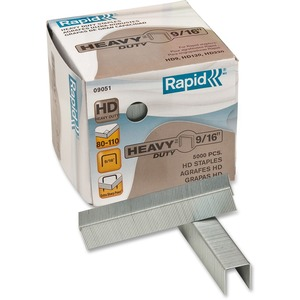 "Rapid® Heavy Duty Staples 9/16"" 130 sheets 5,000/box"