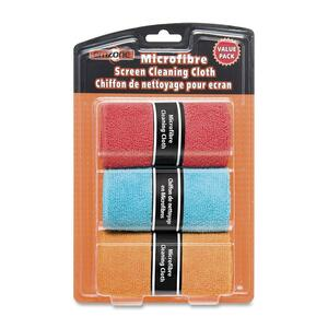 emzone Microfibre Cleaning Cloths 3/pkg