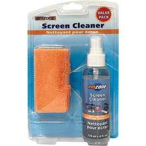 emzone Screen Cleaner w/Microfibre Cleaning Cloth