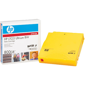 HP LTO Ultrium 3 Data Cartridge