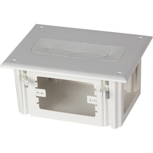 Datacomm Recessed Media Box White / Mfr. No.: 45-0010-Wh