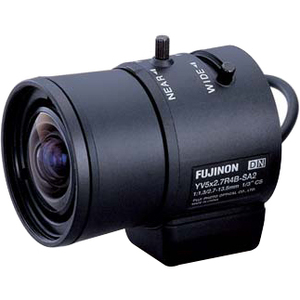 Fujinon YV5X2.7R4B-SA2L - 2.70 mm to 13.50 mm - f/1.3 - Zoom Lens for CS Mount