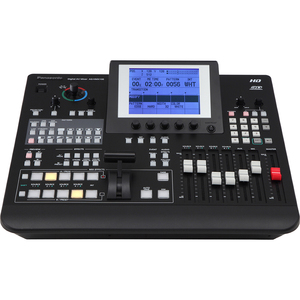 Hd/SD Digital A/V Mixer With Multiviewer Large 5.7in LCD F/ / Mfr. No.: Aghmx100pj