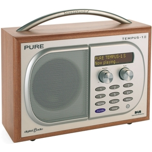 Pure TEMPUS-1S Luxury Bedside Digital and FM Radio