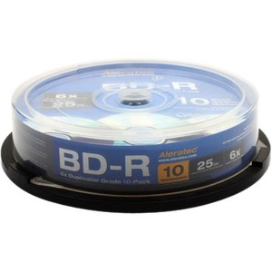 10pk Bd-R 6x Duplicator Blu-Ray Grade Media / Mfr. No.: 370103