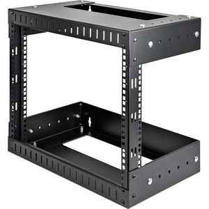8u Open Frame Wall Mount Equipment Rack Adjustable Depth / Mfr. No.: Rk812walloa