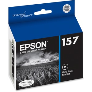 T157820 Matte Black Ink Cartridge F/Epson R3000 Ultrachrome K3 / Mfr. No.: T157820