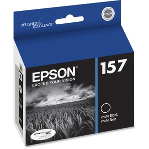 T157120 Photo Black Ink Cartridge F/Epson R3000 Ultrachrome K3 / Mfr. No.: T157120