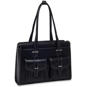 Leather Ladies Briefcase Alexis-Black Leather Ladies Bri / Mfr. No.: 96545