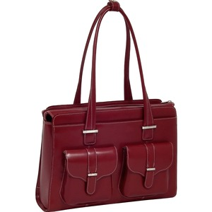 Leather Ladies Briefcase Alexis-Red Leather Ladies Brief / Mfr. No.: 96546