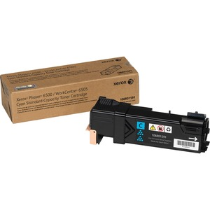 Cyan Toner Cartridge Workcentre 6505/Phaser 6500 Standard Capac / Mfr. No.: 106r01591