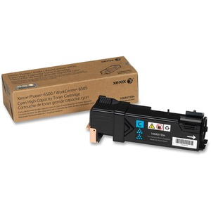 Cyan Toner Cartridge Workcentre 6505/Phaser 6500 High Capacity / Mfr. No.: 106r01594