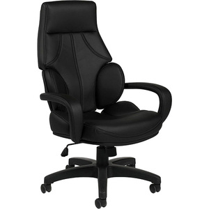 Offices To Go Kazan High Back Tilter Polyurethane Chair Black