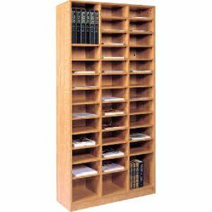 LDF Literature Organizer 36 Shelves Sahara