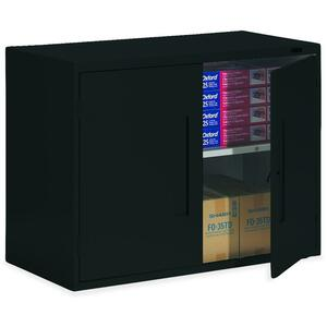 "Global® Fileworks® Storage Cabinet 36"" x 18"" x 27-1/8"" Black"