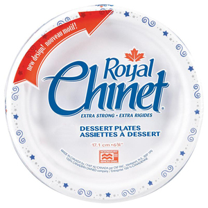 "Royal Chinet® Paper Plate 6"" 20/pkg"