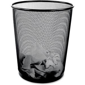 Winnable Mesh Round Wastebasket