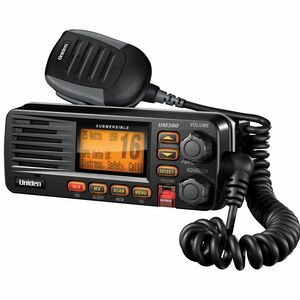 Full-Featured Fixed Mount VHF Radio / Mfr. No.: Um380bk