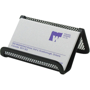 Winnable Mesh Business Card Holder Black