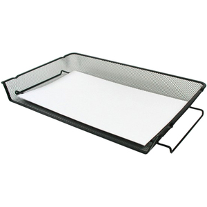 Winnable Mesh Stackable Side-load Tray Legal Black