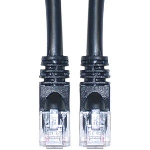 1ft Cat5e Black UTP Molded Boot Cable 350mhz High Performance / Mfr. No.: Cb-5e0011-S1