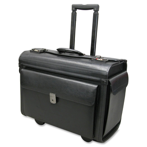 "Nextech Rolling Catalogue Case 15.6"" Leather Black"