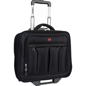 """SwissGear® Wheeled Business Case w/Notebook Sleeve 15.6"""" Black"""
