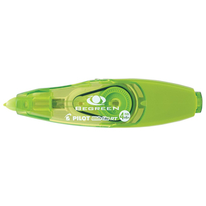 Pilot® BeGreen® White Line RT Correction Tape