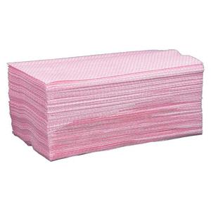 """Chix Disposable Cloth Towels 13-1/2"""" x 24"""" Pink 100/pkg"""