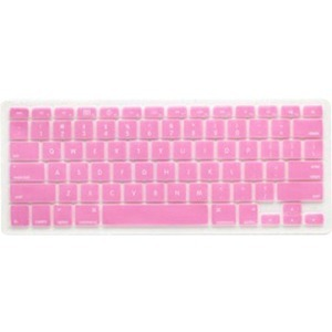 Silicone Keyboard Cover Pink For MacBook And MacBook Pro / Mfr. No.: Mb1357pik
