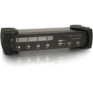 4port USB 2.0 VGA Trulink KVM Switch / Mfr. No.: 35567