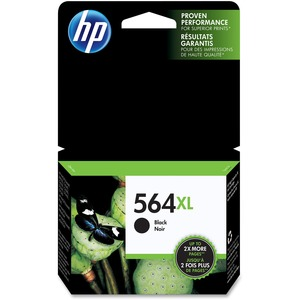 HP Inkjet Cartridge High Yield CN684WN #564XL Black