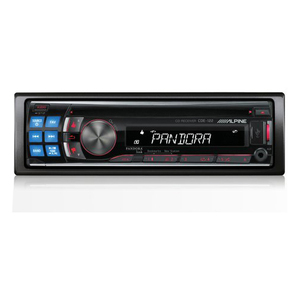 Alpine CDE-122 CD receiver