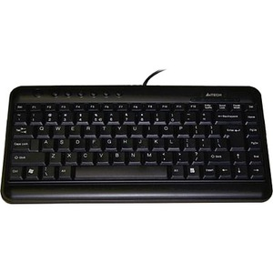 A4tech Slim Multimedia Keyboard Low Profile Compact Layout Ergo / Mfr. No.: Kl-5blk