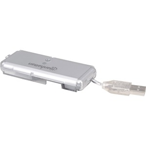 4port USB 2.0 Pocket Hub 480mbps Bus Powered Silver / Mfr. No.: 160599