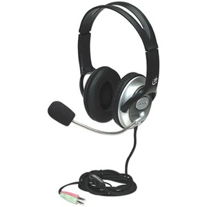 175555 Classic Headset W/ Mic 3.5mm 8ft Vol Stereo / Mfr. No.: 175555